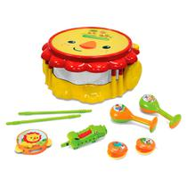 Fisher Price Kit Bandinha Musical Leão - Fun Divirta-se