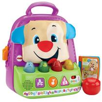 Fisher Price - Mochila Animada do Cachorrinho - Mattel