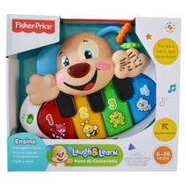 Fisher-Price Piano do Cachorrinho Aprender e Brincar - Mattel - Fisher price