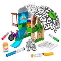 Fisher-Price Wonder Makers Colorir a Casa na Árvore - Mattel -
