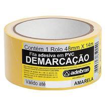 Fita Ades Demarcacao Adelbr Am 48mmx14m - Rcdeletrica