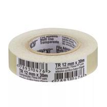 Fita Adesiva 12mmx30m Transparente Durex 3m -