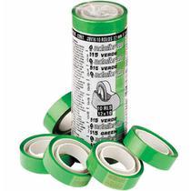 Fita adesiva 12x10 verde / 10rl / adelbras -