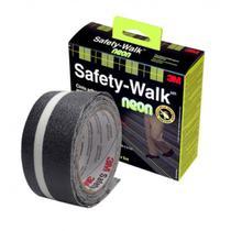 Fita Adesiva Anti-Derrapante 50 Mm X 5 Metros - Safety Walk Neon - 3m -