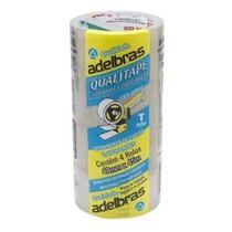 Fita Adesiva caixa com 120 rolos. Para Embalagem Transparente Qualitape Aldebras 48mmx45m 4. -