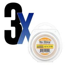 Fita Adesiva Capilar No Shine 3m x1,3cm WalkerTape 3un - Walker Tape