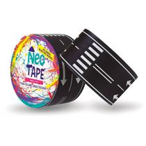 Fita Adesiva Decorada Neo Tape Pista 48MM X 5M - GNA