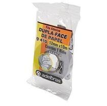 Fita Adesiva Dupla-Face Acrilico Transparente 12mm - 10m - Adelbras -