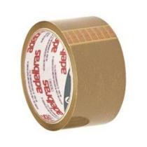 Fita Adesiva Embalagem Marrom 48x45 Adelbras -