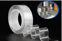 Fita Adesiva Gel Mágica Dupla Face Fixa Forte Transparente 2 Metros - Adesivo