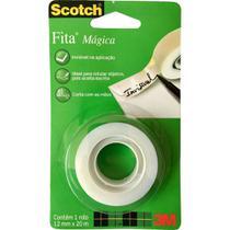 Fita Adesiva Magica Scotch 1 Rolo 12mm x 20m 1 UN 3M -