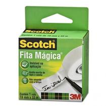 Fita Adesiva Mágica Scotch 3M - 19 mm x 33 m -