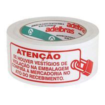 Fita Adesiva Polisil Lacre de Segurança 48mmx100m Adelbras -
