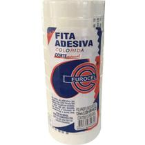 Fita Adesiva Pp 2000 12mmx30m Branca Eurocel Pct.c/10 -