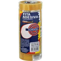 Fita Adesiva Pp 2000 12mmx30m Transparente Eurocel Pct.c/10 -
