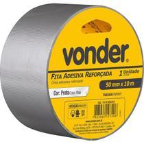 Fita Adesiva Reforçada 50 mm x 10 m Prata VONDER -