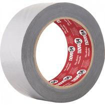 Fita adesiva reforçada 50 mm x 25 m prata Nove54 Prata -
