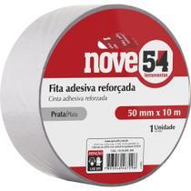 Fita adesiva reforçada silver tape 50mmx25m prata - Nove54 -
