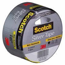 Fita Adesiva Silver Tape 3M Scotch 45x5 -