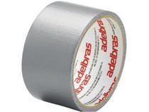 Fita Adesiva Silver Tape Adelbras 48mm x 10m Prata com 05 Unidades -