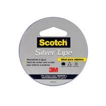 Fita Adesiva Silver Tape Cinza 45mm x 5m 1 UN 3M -
