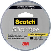 Fita Adesiva Silver Tape Scotch Resistente Multiuso 45mm X 5m Cinza 3m -