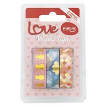 Fita adesiva Washi Tape 3 un Molin -