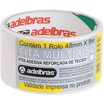 Fita Alta Resistencia Silver Tape Branca 48mmx5m. Adelbras -