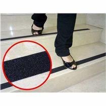 Fita Anti Derrapante 5x500cm Preta Escadas Rampas Western -