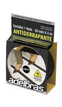 FITA ANTI DERRAPANTE ADELBRAS 50MM x 5M PRETA -