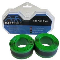 Fita anti furo 35mm x 2.30mts aro 29 verde safetire -