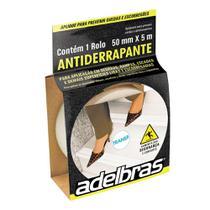 Fita Antiderrapante 50mm x 5m Transparente - Adelbras - Adere