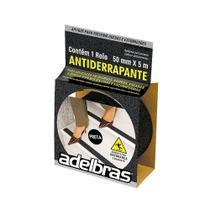 Fita Antiderrapante Preta 50mm x 5m 1 UN Adelbras -