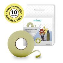 Fita Banana Dupla Face Mimo - 10 Metros -