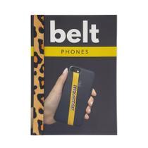 Fita Cinto de Segurança Salva Celular Belt - Animal Print -