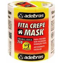 Fita crepe 18x50 mask crepe / 6rl / adelbras -