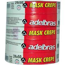 Fita crepe 24x50 mask crepe / 5rl / adelbras -