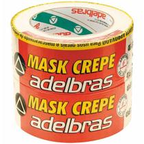 Fita crepe 48x50 mask crepe / 2rl / adelbras -