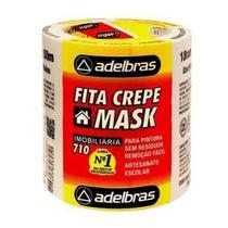 Fita Crepe 710 18mmx50m - 6 Rolos Adelbras -