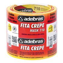 Fita Crepe 710 48mmx50m - 2 Rolos Adelbras -