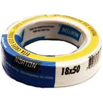 Fita crepe adesiva de 18 mm x 50 metros - SLEEVE - Norton