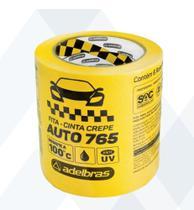 Fita Crepe Automotiva 4,8x40 - Adelbras - 16 Rolos -