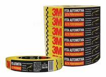 Fita Crepe Automotiva Alta Performance 3M -16mmX40m 5Unid. -