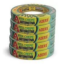 Fita Crepe Automotiva Alta Resistencia Verde 18mmx50m Adere -