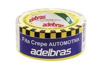 Fita Crepe Automotiva Amarela 765 Adelbras 48mmX40m C/2 Rolos -