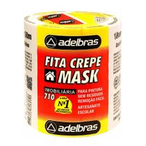 Fita Crepe Mask 710 18mmx50m Adelbras -