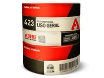 Fita Crepe para Uso Geral 423, 24mm x 50m, Pacote C/ 5 Unidades, Adere -
