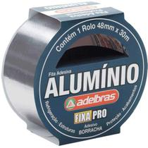 Fita De Alta Resistencia Aluminium Tape 48mmx30mts Adelbras -