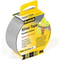 Fita de ALTA Resistencia Cinza Silver Tape SCOTCH3939 45MMX5M - 3M