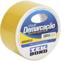 Fita de Demarcacao Amarela 48MMX15M Tekbond -